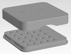 box v6 ugelli 25 pz w i tag Stampante 3d accessori box casella di ugelli e3d v6 ugelli portaugello