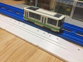 station trum plarail construction toys plarail station tomica town tram