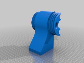filament hopper quick removal 3d printing extruder hopper filastruder filastruder hopper hopper quick removal quick hopper