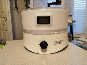 hygrometer temp panel 73mm dehydrator tray extension 3d printer accessories