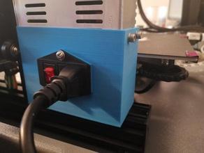 ender 3 - power supply stand creality ender 3 ender3 ender 3 power supply power supply case power supply cover power supply holder power supply mount