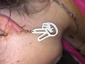 peace earrings earrings christmas earring earrings idealab peace peace earring peace earrings peace sign peace symbol pendant pendants xmas