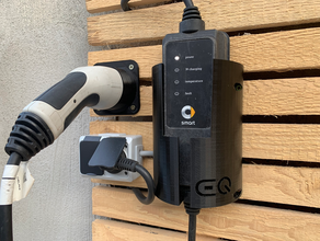 charging cable holder smart eq ladkabelhalterung smart eq automotive charger smart smart car smart card holder smart eq typ2