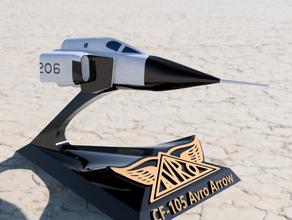 cf-105 avro arrow - rl-206 nose section vehicles