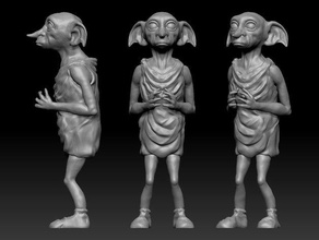 dobby house elf re-sculpt creatures dobby elf harry harrypotter harry potter potter wizzard
