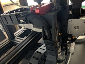 mejora de la cadena de cable ángulo de montaje de ender 3 pro Impresora 3d de las piezas cadena de cable ender 3 ender 3 pro ender 3 actualización motor paso a paso de montaje
