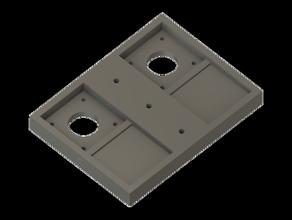 doble nema 17 extrusor de soporte de ender 5 Impresora 3d de las piezas
