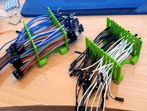 dupont pin del cavo ponticello organizzatore l'elettronica regolabile dupont l'elettronica cavo di saltatore ponticello ponticello di filo titolare pin