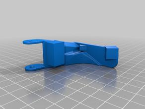 ender 3 - trasero x-paso a paso de la cadena de montaje Impresora 3d de las piezas