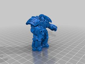 captain centurion deathwatch toy & game accessories deathwatch figurine ultramarine warhammer warhammer 40k