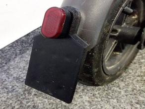 flexible license plate xiaomi m365 Roller automotive e-Roller kennzeichen Lizenz-Platte m365 mijia xiaomi m365