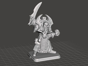 heroquest - wizards morcar - necromancer fanrax repaired toys & games