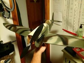 ft spitfire dxf laser cutter file r c vehicles airplane flitetest ft spitfire lasercut remote control spitfire