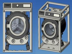 washing machine toy 4 motorized electronics arduino laundry machine motorized relay vestel washing washing machine