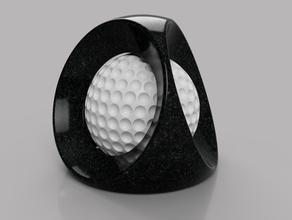 balle captive sculptures art balle d coration golf jeu sculpture sport