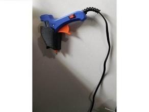 hot glue gun wall mount household glue glue stick glue stick holder hot glue hot glue gun