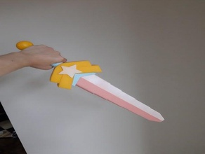 steven universe connie's sword collapsing sword 3d printing