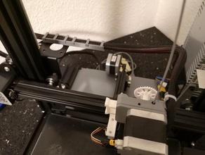 ender 3 directa del cable de la unidad de la cadena de alternativa Impresora 3d de las piezas cadena de cable gestión de cables creality creality ender 3 ender 3 mod