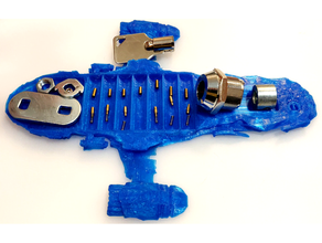 serenity lock pinning tray sp tool holders & boxes dissassemble dissassembly loacksmith lock lockpicking locksport padlock pinning pinning tray pins tray