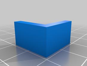 soporte cristal 3mm ender3 3d printing
