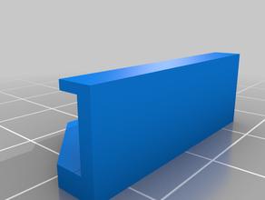 soporte lateral cristal 3mm ender3 3d printing