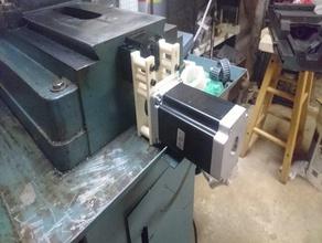 enco mill cnc grbl ballscrew conversion hobby ballscrew cnc conversion enco machine milling