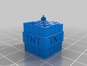minecraft tnt props minecraft tnt tnt block