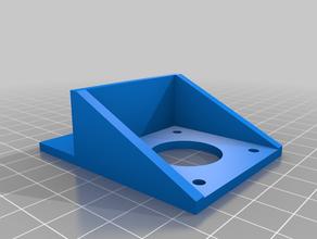 2020 extrusor de la nema 17 del motor soporte de montaje Impresora 3d de las piezas 2020 hipercubo nema17
