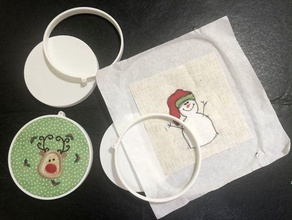 craft embroidery hoop 2d art christmas ornament craft hoop embroidery hoop hoop ornament