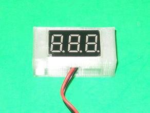 voltmeter housing display case led case led voltmeter voltmeter voltmeter case voltmeter housing