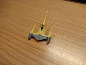 naboo starfighter n1 x-wing minyatür avcı n1 starfighter naboo uzay gemisi star wars xwing Minyatürler x kanat