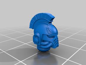 ultramarine helmet crest 40k primaris warhammer 40k wh40k