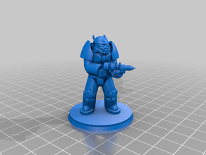 40mm base enclave soldier x02 advanced power armor 40mm base advanced advanced power advanced power armor america armor base capital eden enclave fallout fallout 3 fallout plasma rifle henry john mark ii mini miniature plasma rifle power power armor president soldier trooper warfare wasteland x02