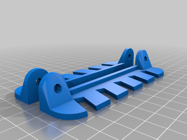 my customized wrench rack