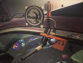 fpv antenna car window mount x3 drone drone racing fatshark fpv fpv antenna fpv antenna holder fpv antenna mount frsky antenna mount quadcopter rp-sma antenna mount sma antenna mount