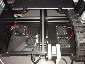 dual 40 mm fan lids ender 3 pro aio case 40mm fan 40mm fan cover 40mm fan grill 40mm fan mount creality ender 3 creality ender 3 pro ender 3 ender 3 accessories ender 3 mods ender 3 pro ender 3 upgrade fan mount teaching tech