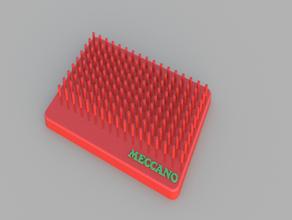 meccano - perforated strip board meccano meccano strip
