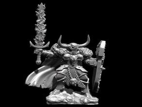 señor archarah o archaon caos el caos de guerrero miniatura de 28mm proxy de miniaturas wargames warhammer warhammer fantasy