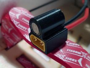 xt60 + capacitor 10mm mount xt60 xt60 cap xt60 holder