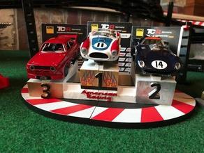 slot car podium carrera digital 132 voiture carrera le numérique podium la fente le stand le gagnant