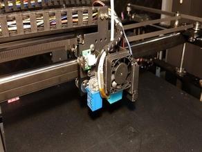 hotend fan Kutte tronxy x5sa pro Drucker 40-mm-fan-duct fan-duct tronxy x5sa pro
