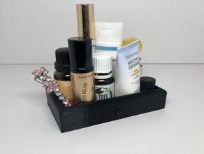 scatola di gioielli gioielli titolare piccole nicknack casella in miniatura cassetto modificare titolare make up titolare