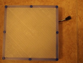 16x16 neopixel matrix enclosure 16x16 16x16 led matrix arduino electronics enclosure led lights matrix neopixel pattern sandiego3dprinting