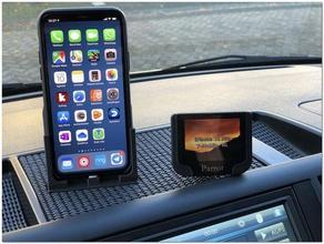 vw t5 Armaturenbrett iphone 11 pro Halter-Ladegerät-Parkplatz-Karten-slot Auto dashboard Armaturenbrett-Berg Halter iphone iphone 11 iphone 11 pro transporter vw-bus vw transporter