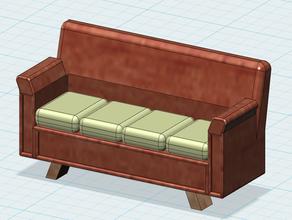 123d design sofa model 123d design autodesk 123d sofa