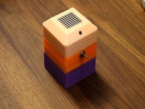 audio visualizer display case arduino arduino nano audio audiophile audio jack audio visual audio visualizer electronics electronics enclosure fft microphone usb visualizer