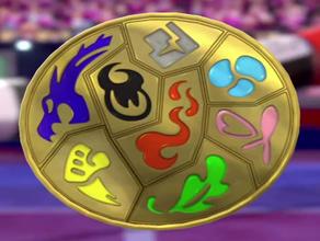 galar palestre badge pokemon spada e scudo badge distintivi galar galarian palestra le medaglie pokemon shield spada swordshield swsh