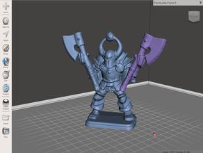 doble empuñadura caos guerrero la edad de sigmar el caos de guerrero hero quest heroquest warhammer warhammer fantasy