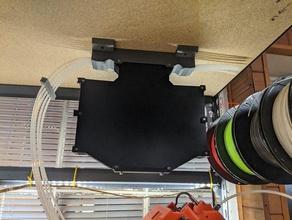 mmu2 filament buffer - stand mount buffer filament buffer mmu2 prusa prusa i3 prusa i3 mk3 prusa i3 mk3 mmu2