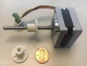 lead nut moon's nema 14 lead screw motor 14hy5001 lead screw motor leadscrew lead screw stepper motor